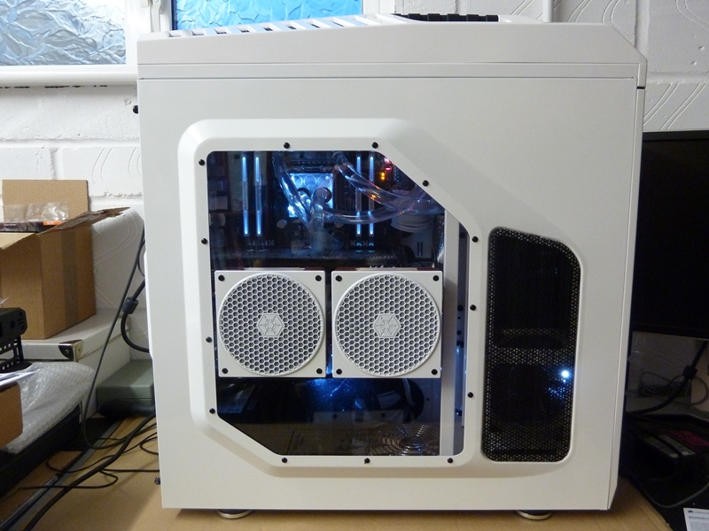 Custom PC with Water Cooling Loop